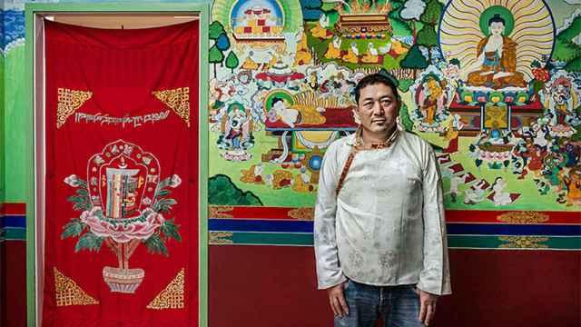 Thupteng Sonam vive como refugiado tibetano en Barcelona.