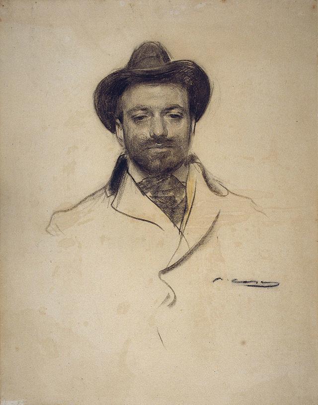 Autorretrato de Josep María Sert.