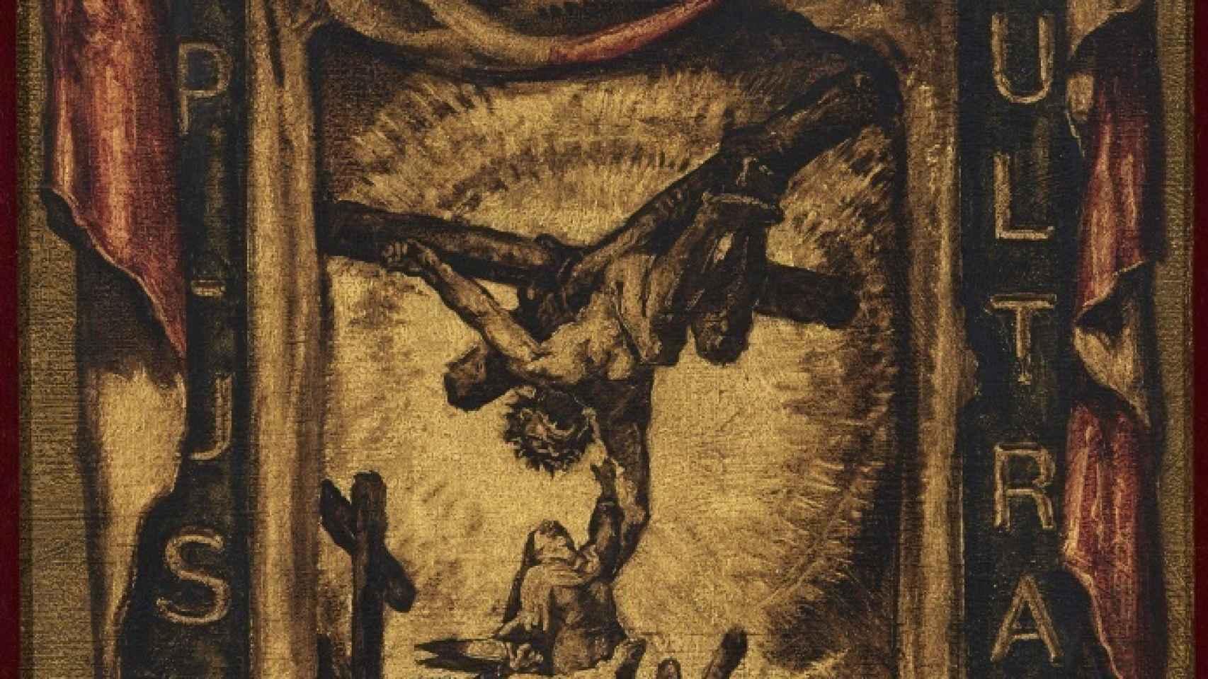 La pintura de Sert, Intercesión de Santa Teresa de Jesús en la Guerra Civil española.