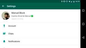 Así será el nuevo menú de ajustes de WhatsApp