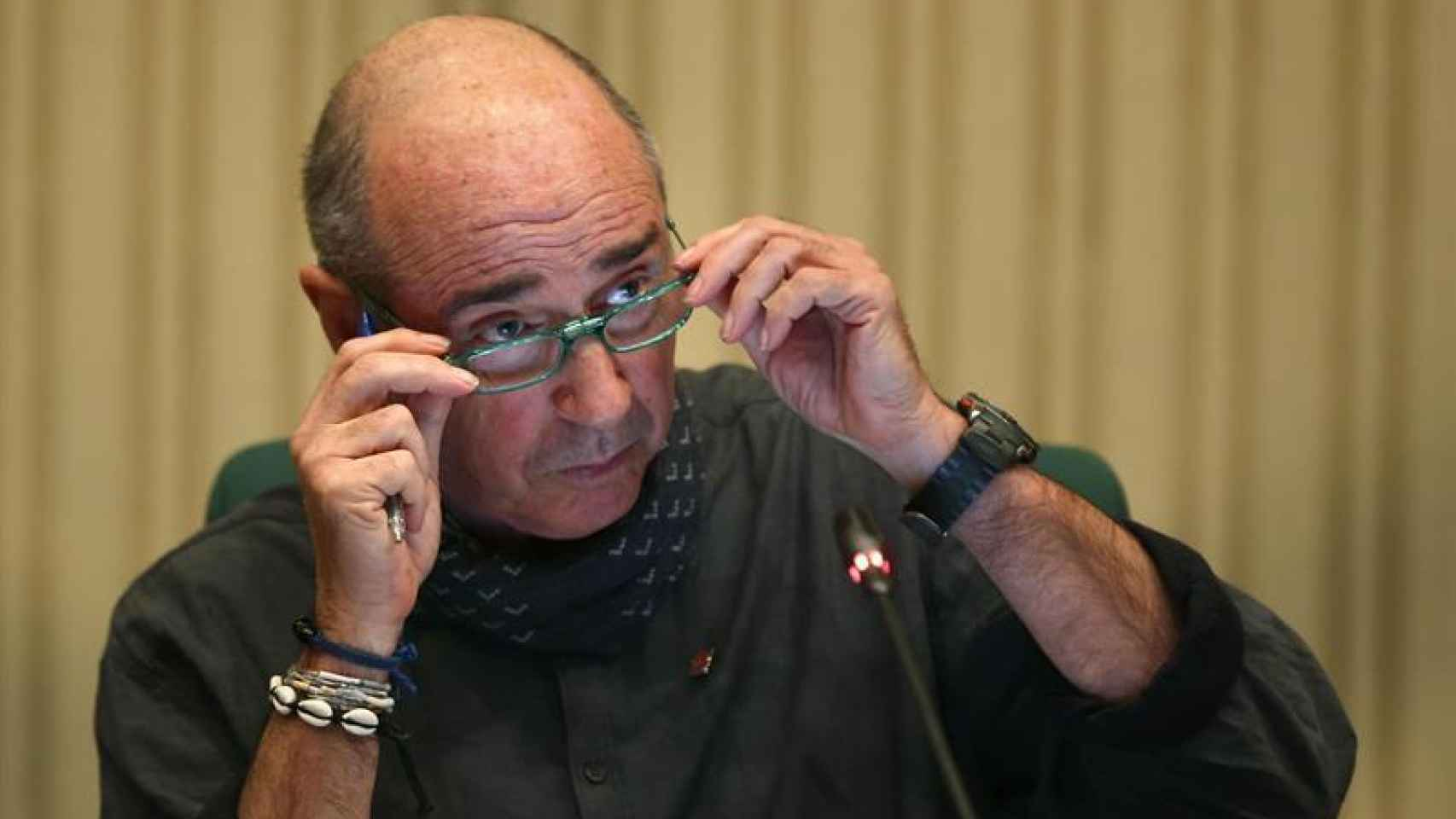 El diputado y cantautor, Lluís Llach.
