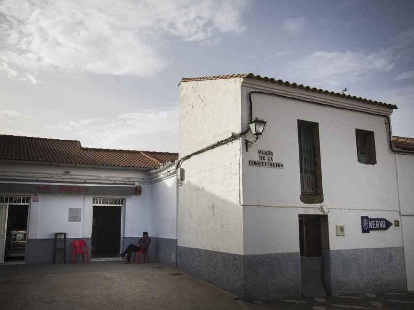 La plaza de El Madroño.