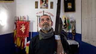 Legionario en la hermandad de Barcelona.