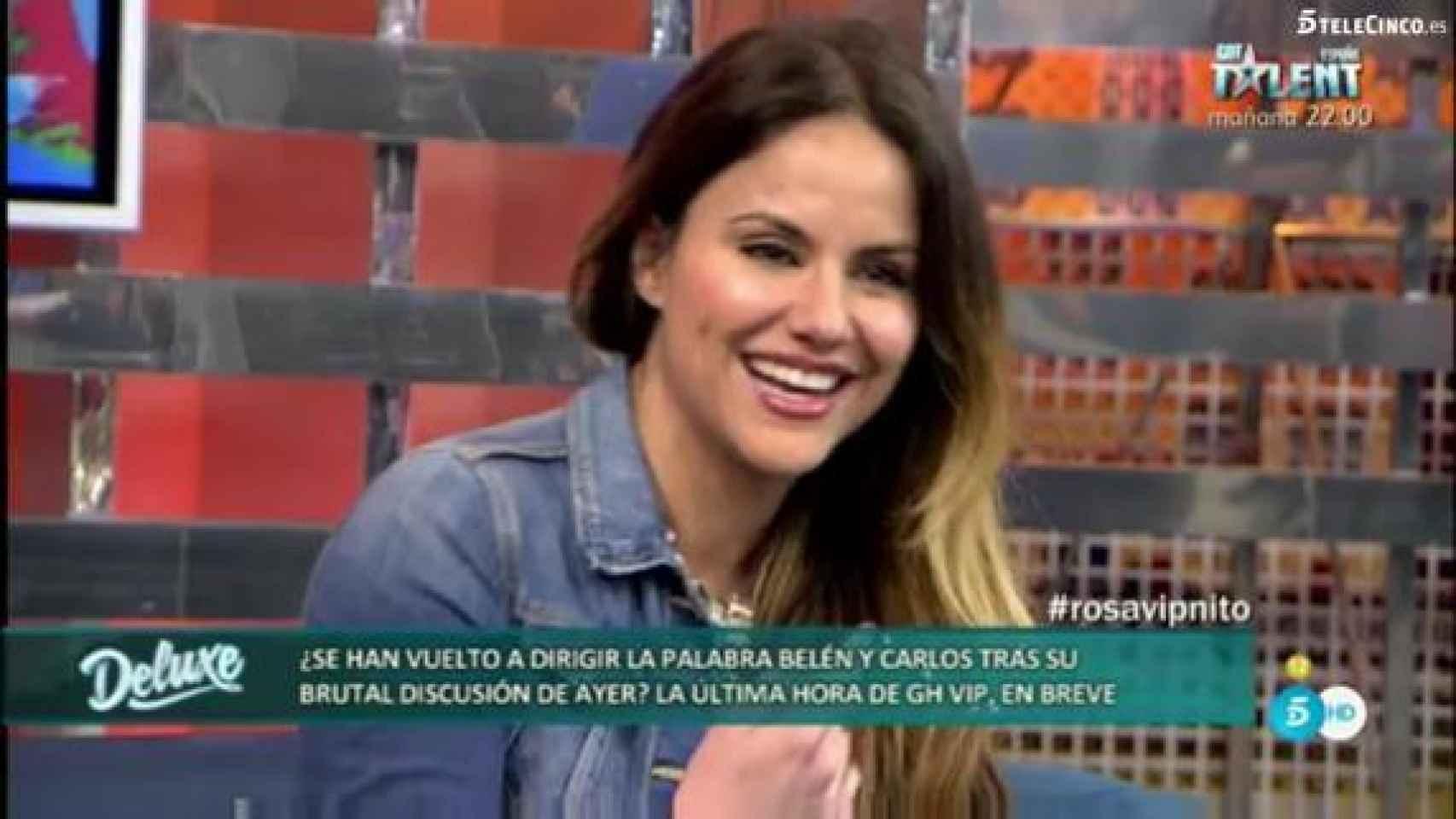Mónica Hoyos ha defendido a su ex en los debates del reality