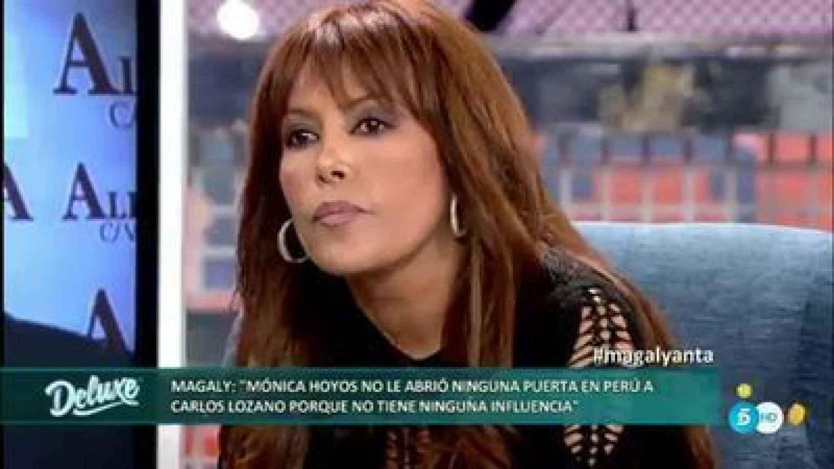 Magaly Medina, la presentadora peruana que arremetió contra el ex matrimonio en Sálvame Deluxe
