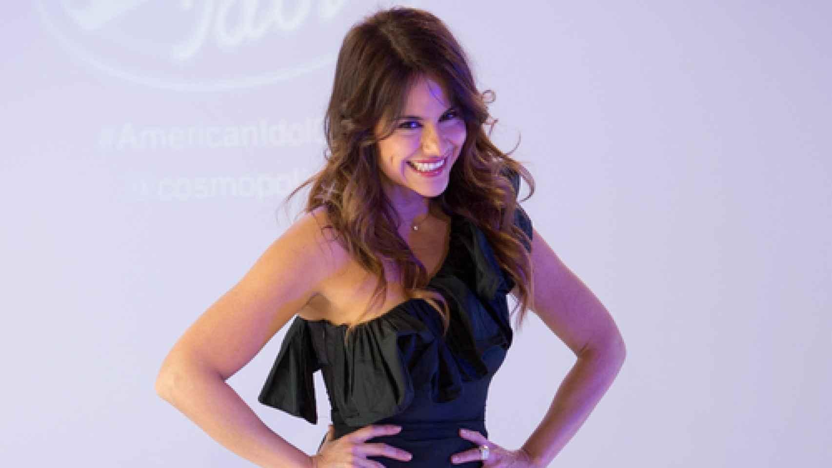 Mónica Hoyos en la presentación de la 14ª temporada de American Idol que emitirá Cosmo