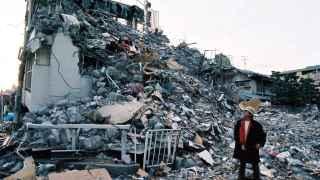 Secuelas del terremoto de Kobe, en 1995.