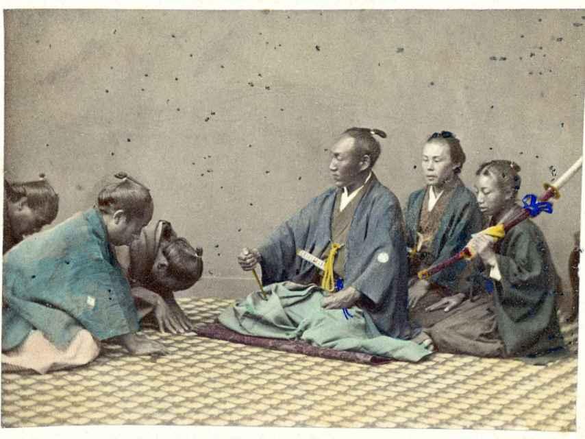 Alto oficial japonés (1860-1900).