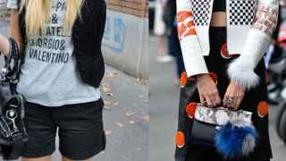 Antes y después de la bloguera Chiara Ferragni