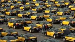 El taxi, un sector sacudido por la CNMC.