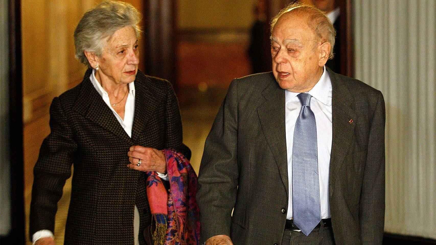 Marta Ferrusola ocultó 838.244 euros en una sociedad panameña.