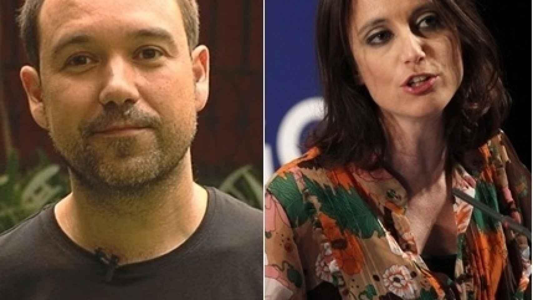 Enric Vila y Andrea Levy son amigos especiales