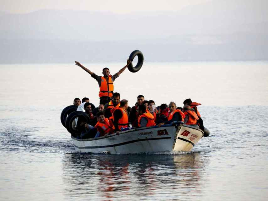 La crisis de refugiados marcó 2015.