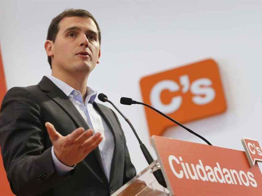El presidente de Ciudadanos, Albert Rivera/Mariscal/EFE