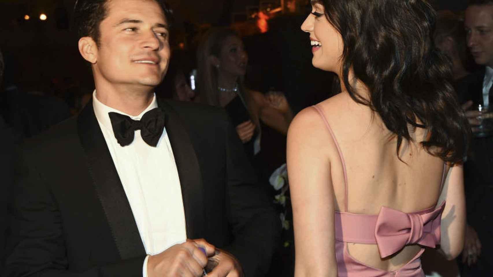 Katy Perry y Orlando Bloom fueron la pareja sorpresa en los Globos de Oro 2016