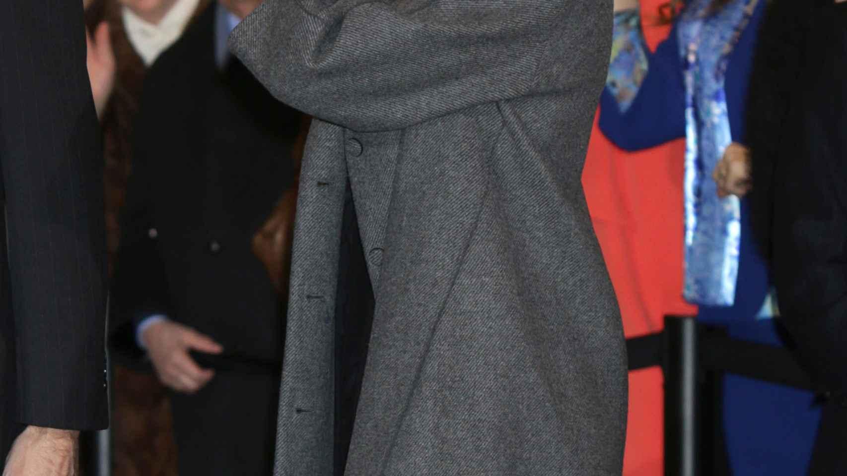 La Reina reapareció el viernes tras la polémica de los SMS