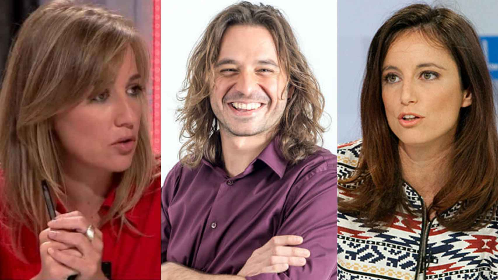 Tania, Levy, Vila: un triángulo amoroso virtual
