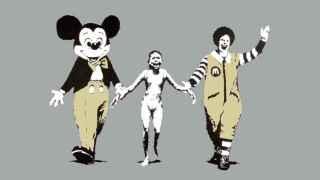 Una de las obras más conocidas de Banksy