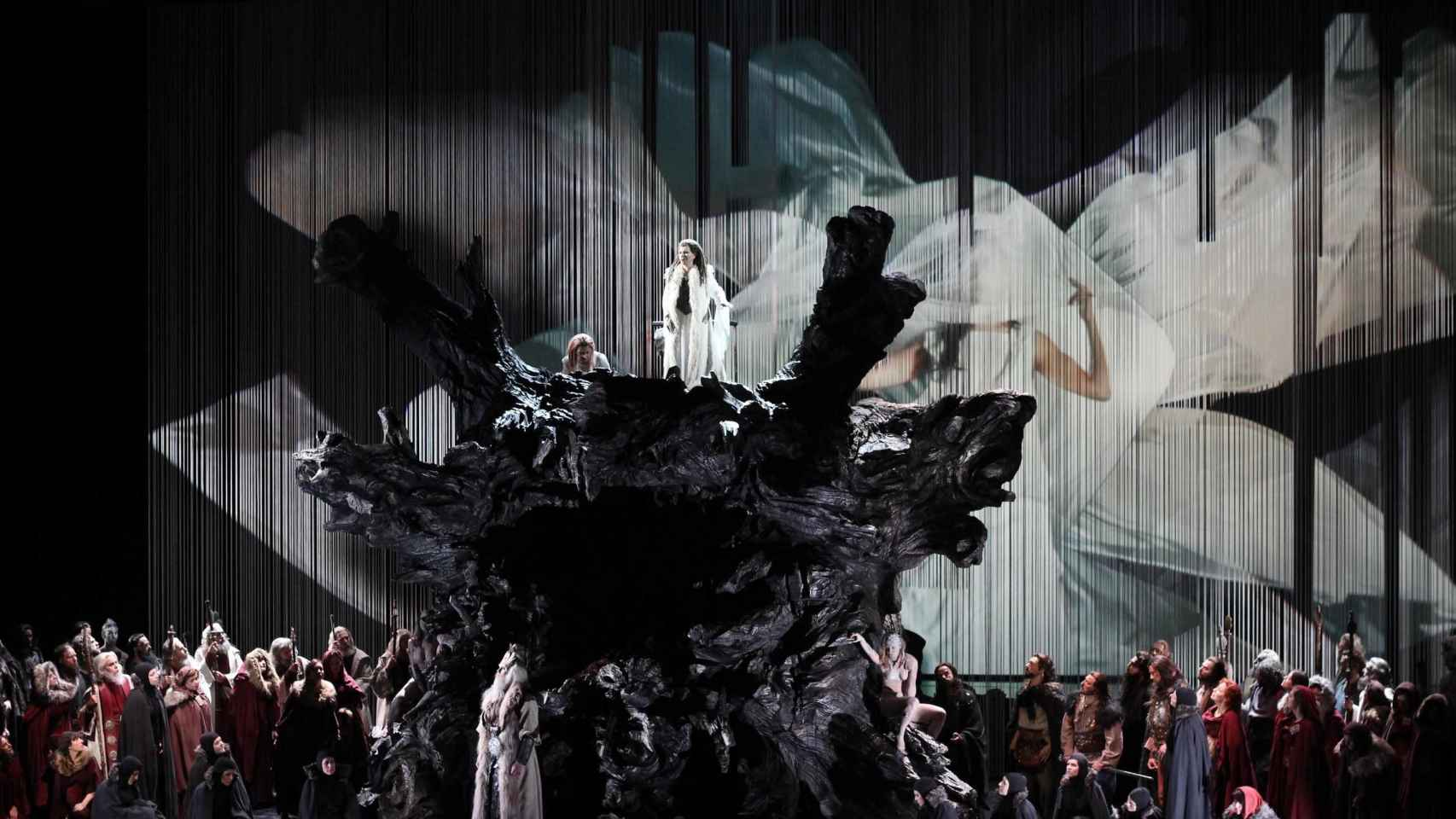 Norma, en la coproducción con el Palau de les Arts de Valencia.