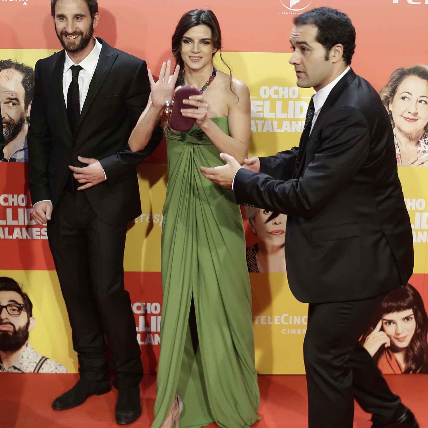 Clara Lago y Dani Rovira en la premier de 'Ocho Apellidos Catalanes'