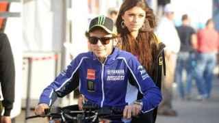 Rossi y la modelo llevaban saliendo cinco años