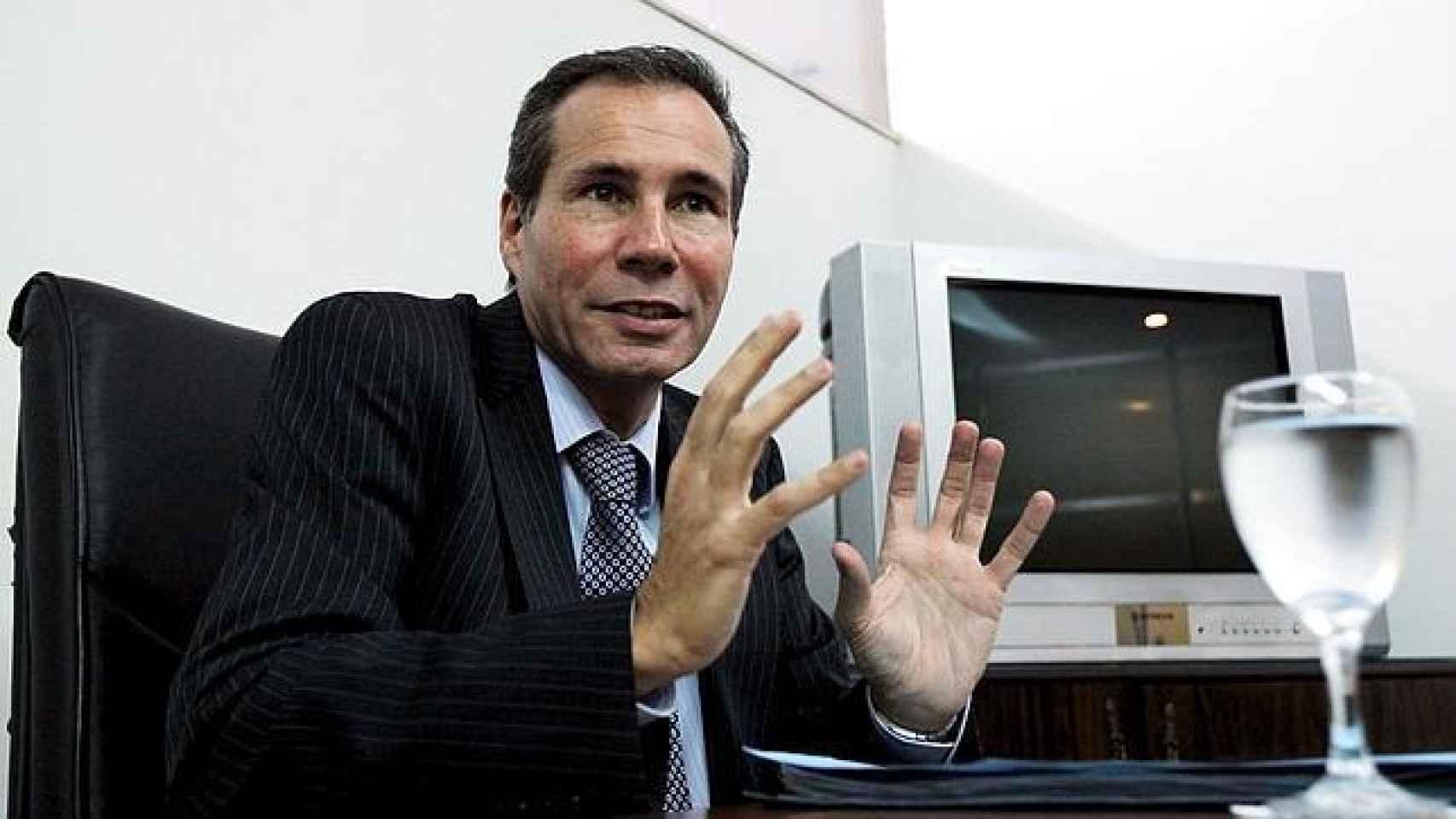 Una tv argentina difunde la última entrevista del Nisman antes de morir