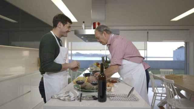 Bertín visitó a Iker Casillas en su casa de Oporto