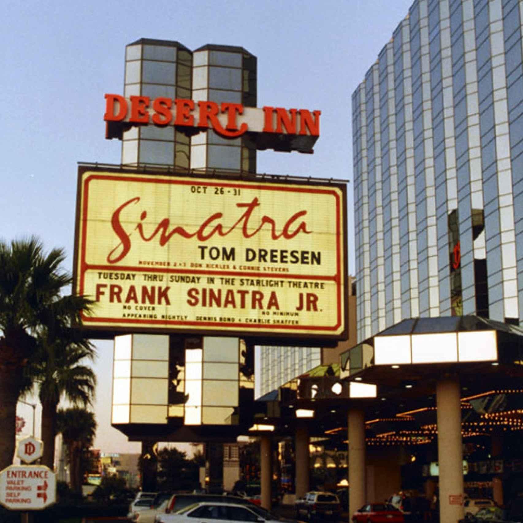 Frank Jr. actuó en Las Vegas como su padre