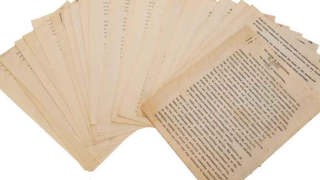 lovecraft manuscrito 1
