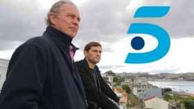 Bertín Osborne junto a Íker Casillas. (TVE)