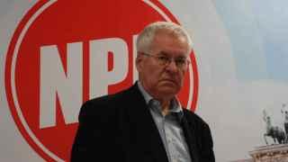 Frank Schwerdt, el vicepresidente del germano NPD.