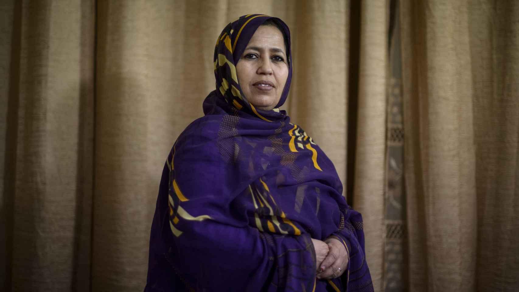 Jira Bulahi llegó a los campamentos de Tinduf con nueve años.