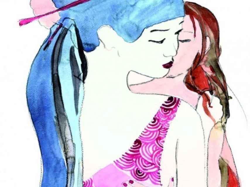 Ilustración de La princesa Li, el primer cuento con una princesa lesbiana
