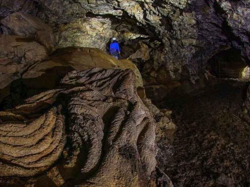 Segundo nivel de la Cueva del viento.