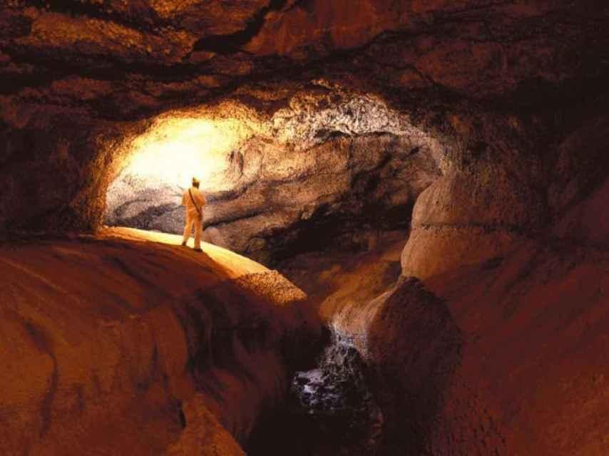 Nivel inferior de la Cueva del Viento.