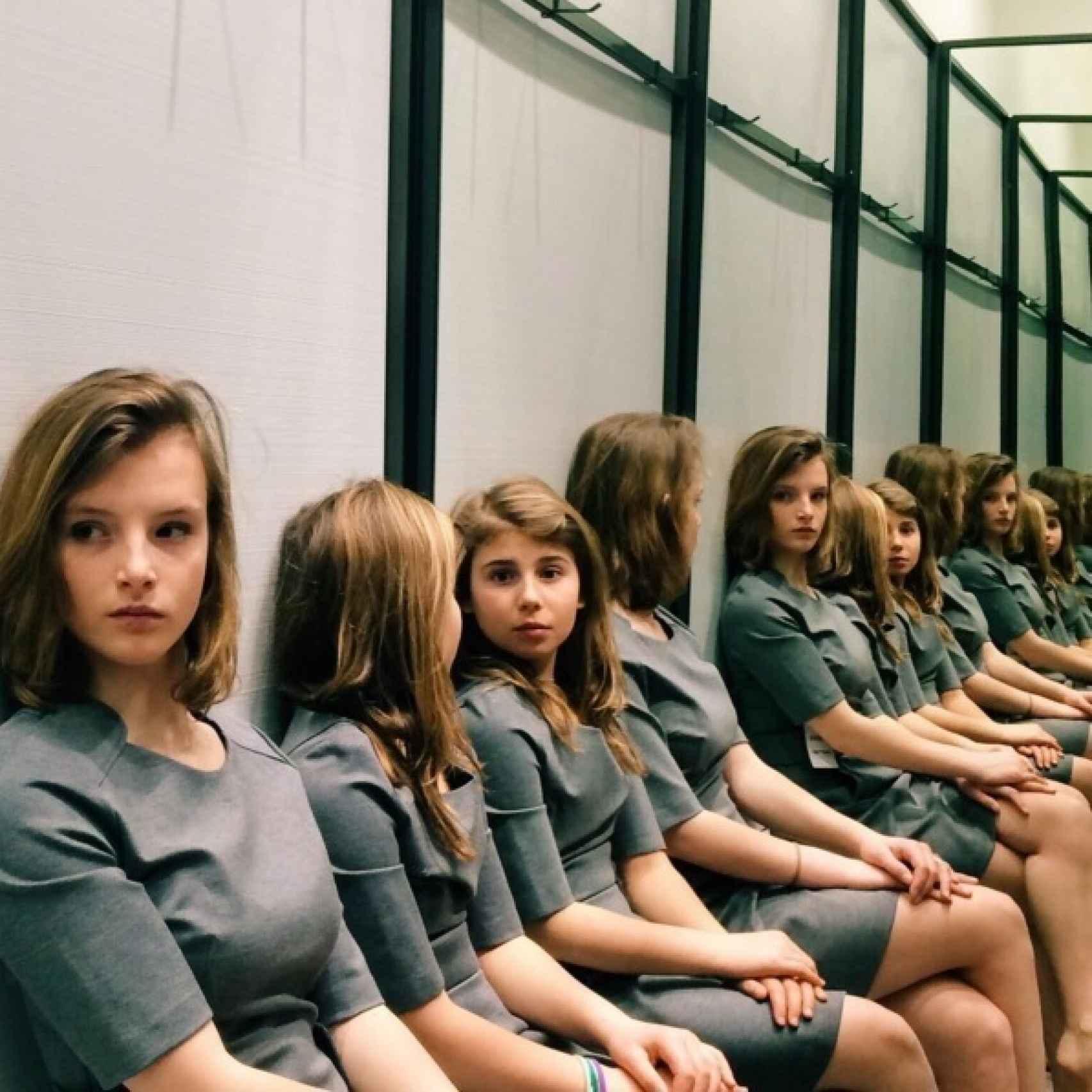 ¿Cuántas niñas hay en esta fotografía?