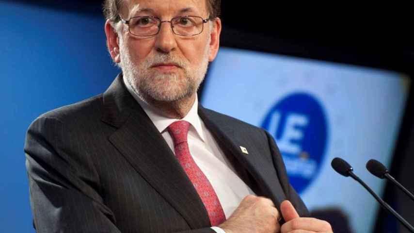 Mariano Rajoy, presidente del Gobierno en funciones, comparece en Bruselas.