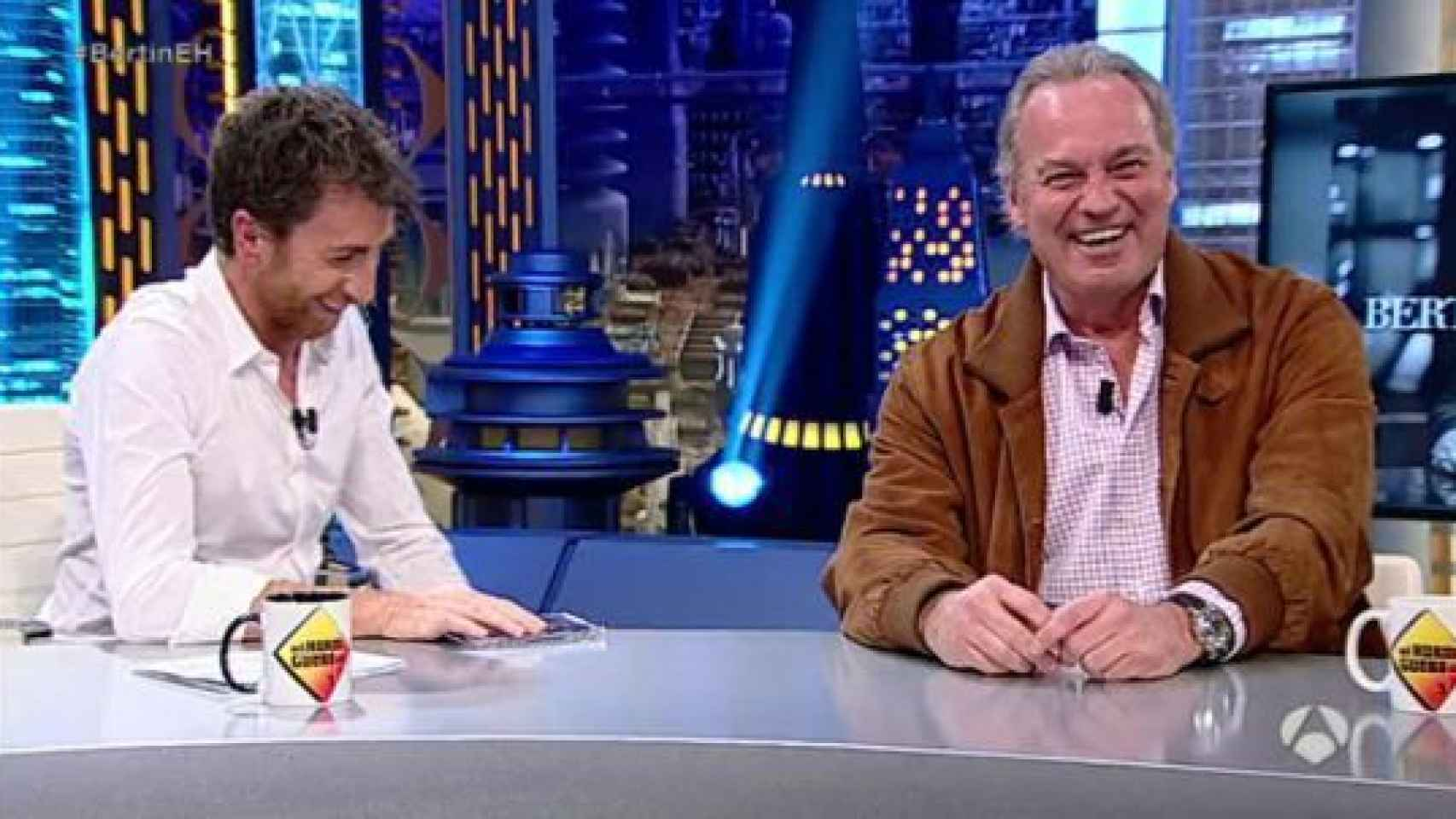 Bertín habló de las negociaciones con RTVE en El Hormiguero