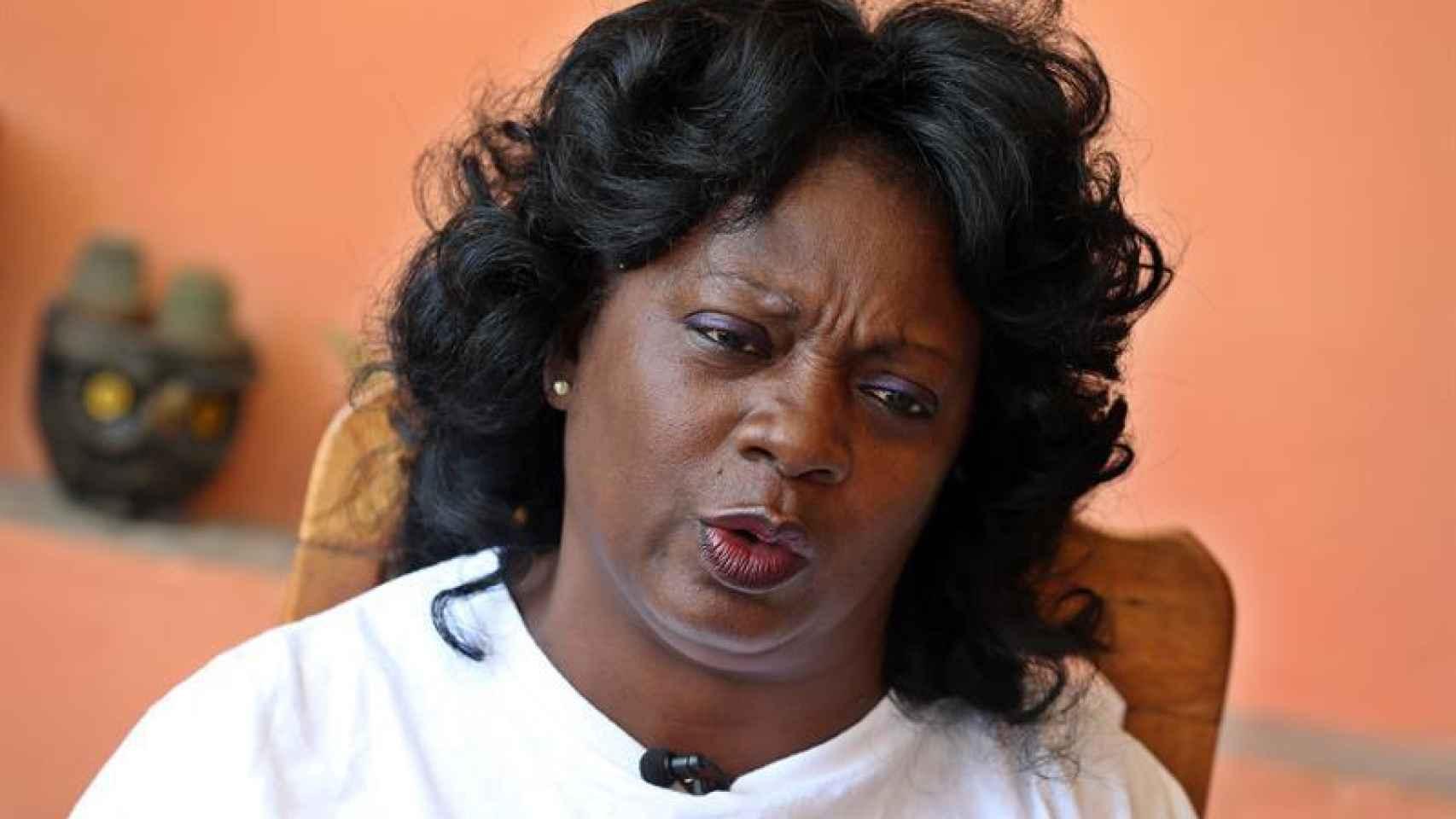 La opositora cubana Berta Soler, líder de las Damas de Blanco.