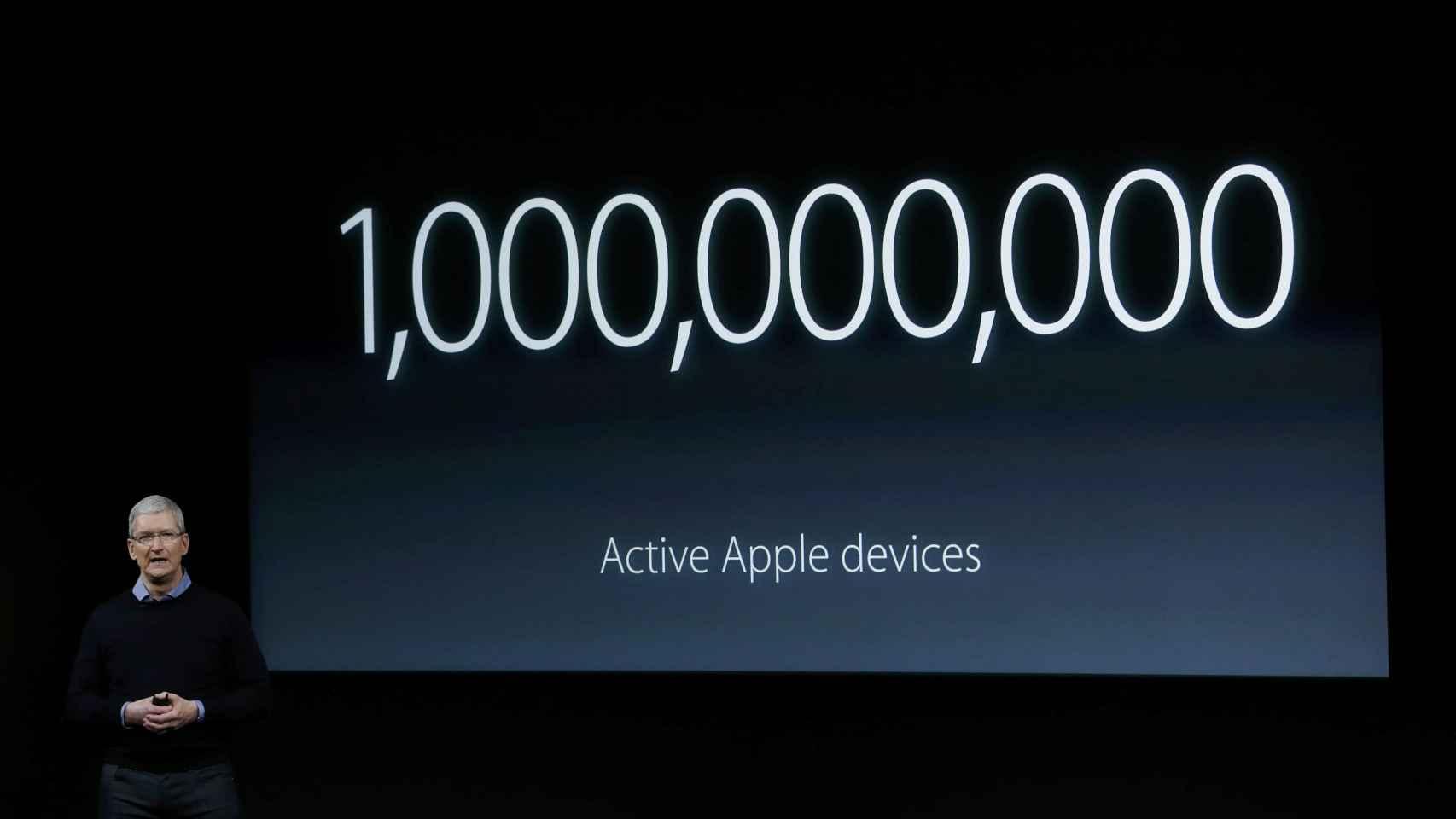 Ésta es la cantidad de dispositivos Apple en todo el mundo