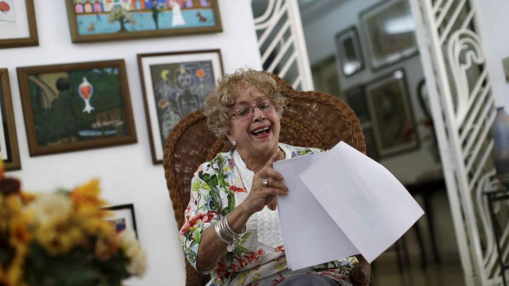 La cubana Ileana Rosa Yarza ha recibido una carta de Barack Obama.