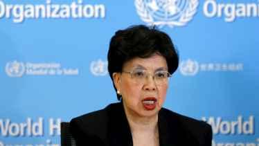 La directora general de la OMS, Margaret Chan.