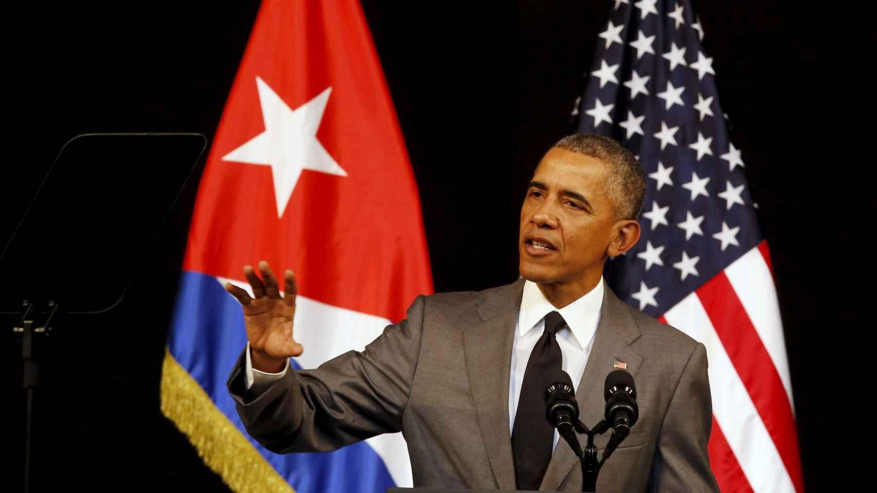 Obama ha prometido dar voz a los disidentes cubanos.