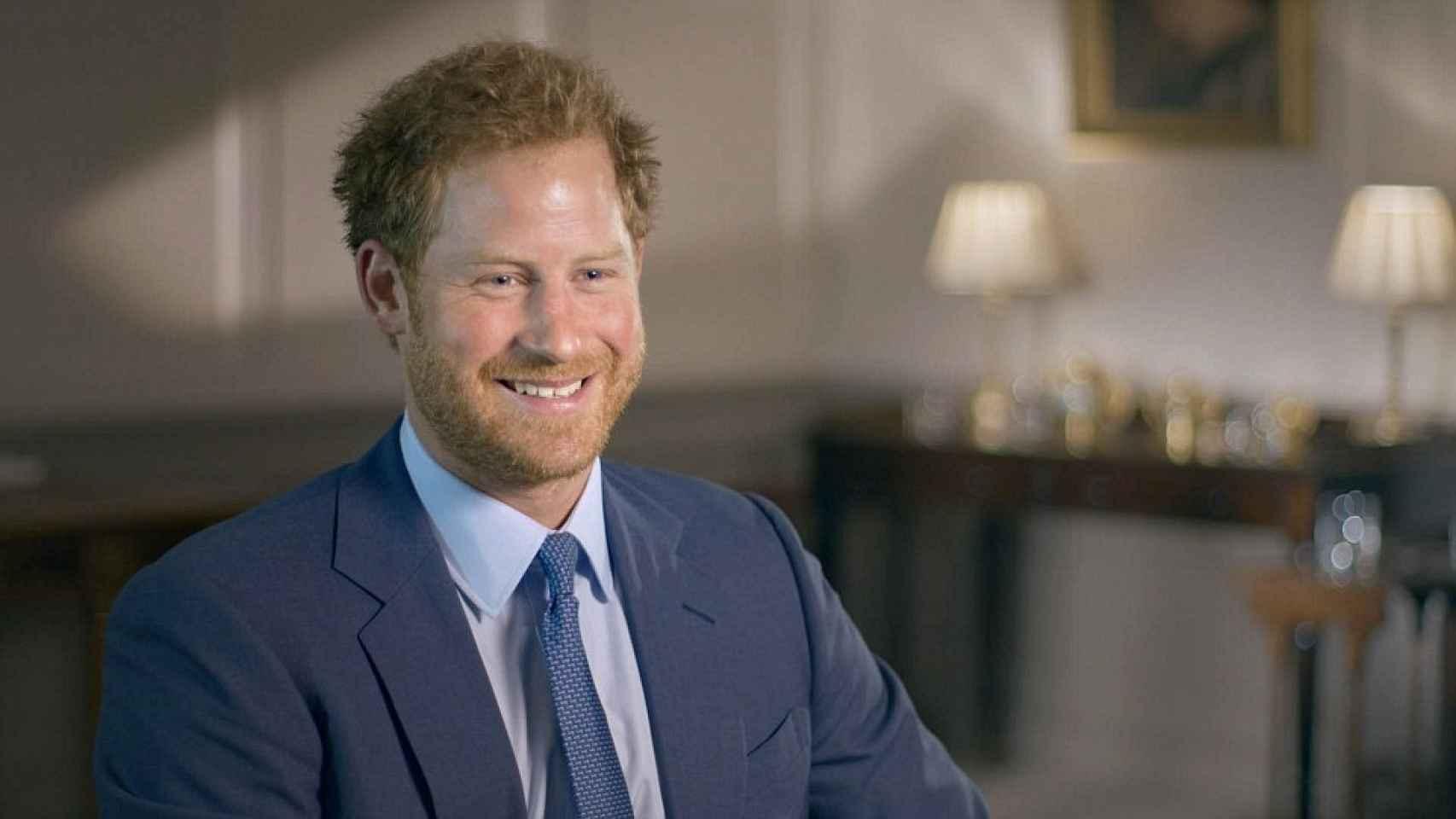 El príncipe Harry en el documental 'Nuestra Reina a los 90'