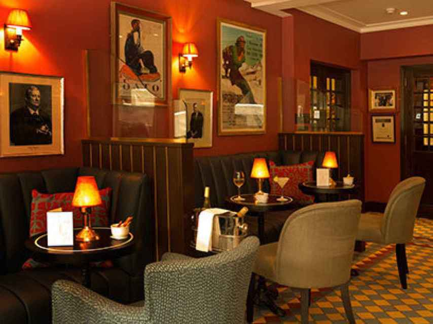 Interior del restaurante Bellamy´s en Londres