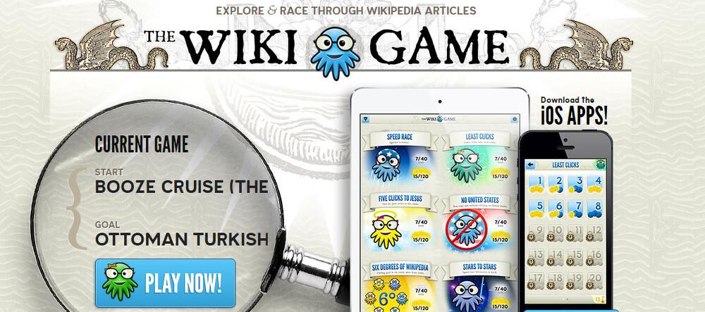 wiki game 1