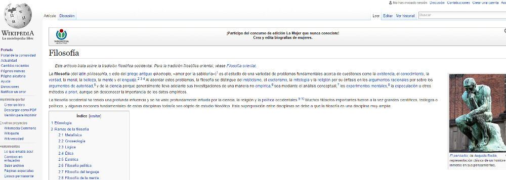 wikipedia filosofia 2