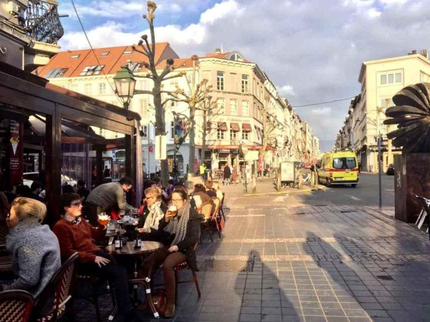 La Place Jourdan este martes.