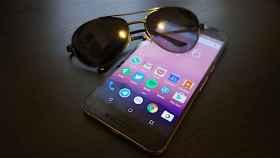 ¿Por qué no puedo ver mi móvil en horizontal con gafas de sol?