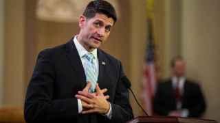 El presidente de la Cámara de Representantes, el republicano Paul Ryan